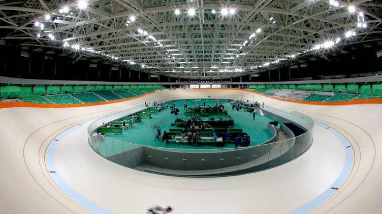 Le vélodrome des Jeux de Rio