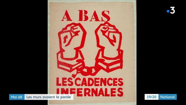 Mai-68 : une révolution par les affiches et les mots