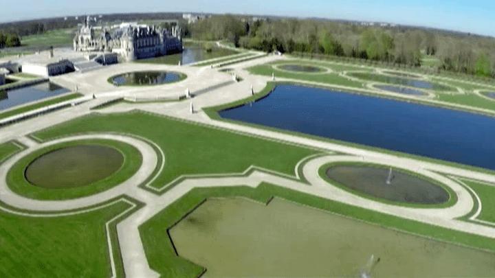 Les jardins à la française de Chantilly  (France 2)