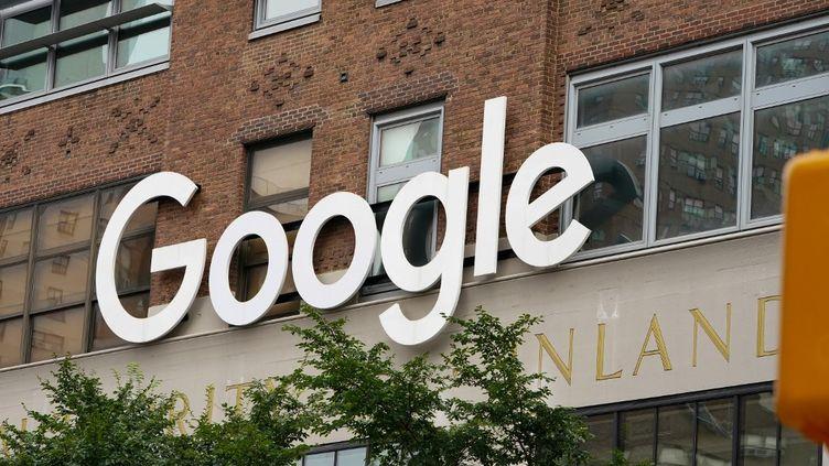 L'entrepriseGoogleà New York, aux Etats-Unis, le 30 juillet 2020. (JOHN NACION / NURPHOTO / NURPHOTO VIA AFP)