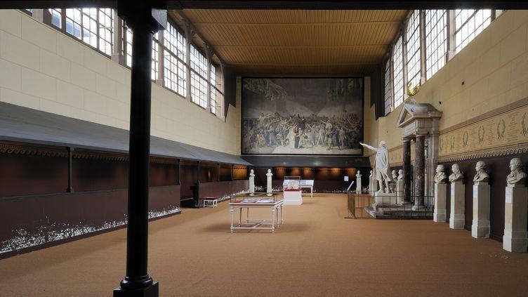 Salle du Jeu de Paume, Versailles, photographiée le 12 janvier 2012 (RIEGER BERTRAND / HEMIS.FR)