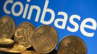 La plateforme Coinbase a fait son entrée en Bourse le 14 avril 2021. (JOAO LUIZ BULCAO / HANS LUCAS)