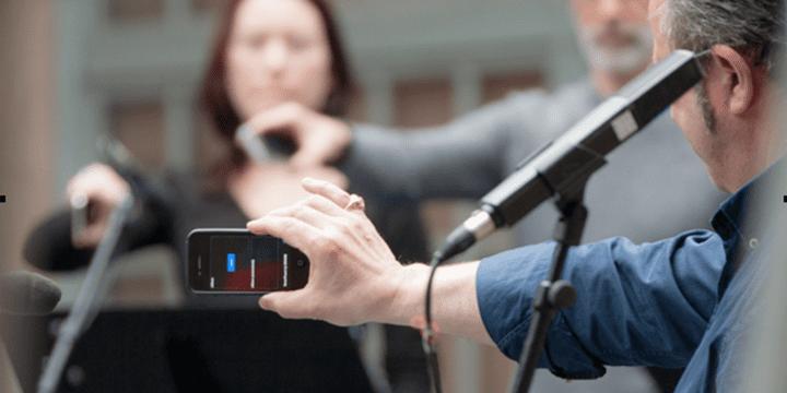 Concert Smartfaust : des applications numériques développées au Grame permettent de transformer un téléphone portable en instrument de musique  (Pascal Chantier)