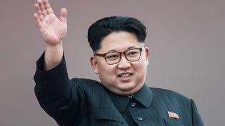 Kim Jong-un, le dictateur nord-coréen, en mai 2016. (ED JONES / AFP)