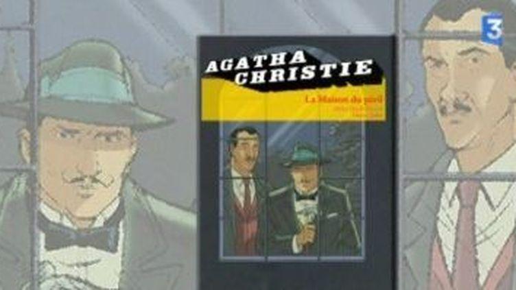 """""""La maison du péril"""" d'Agatha Christie version BD par Didier Quella-Guyot  (Culturebox)"""