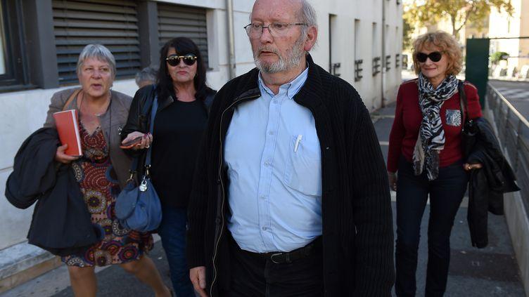 Le fondateur de PIP, Jean-Claude Mas, le 2 mai 2015, à Aix-en-Provence (Bouches-du-Rhône). (BORIS HORVAT / AFP)