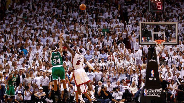 Boston s'est imposé sur le parquet de Miami lors du match 5