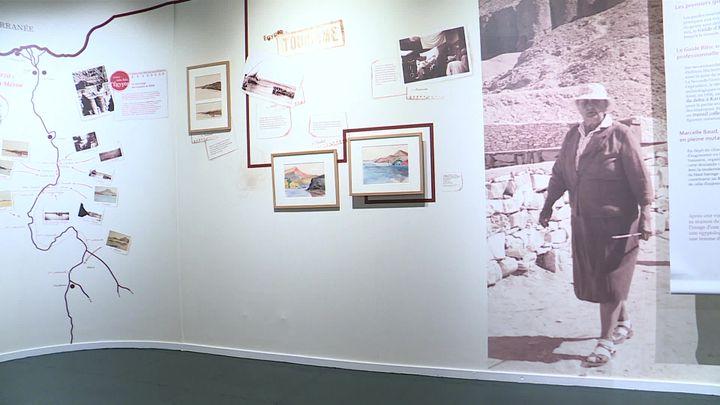 À travers 4000 dessins, photos et archives, l'exposition revient sur les pas de Marcelle Baud. (France 3 Auvergne)