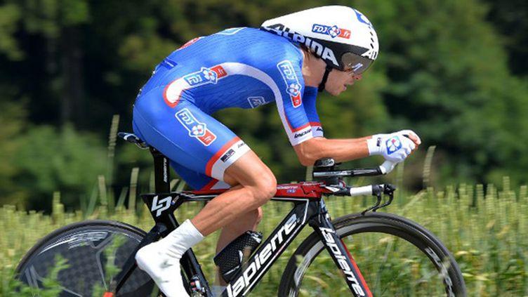 Le coureur français de la FDJ Thibaut Pinot  (DE WAELE TIM / TDWSPORT SARL)