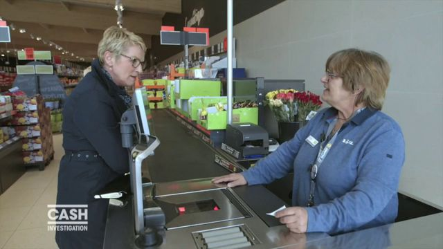 """VIDEO. Travail. Elise Lucet au supermarché pour """"Cash Investigation"""""""