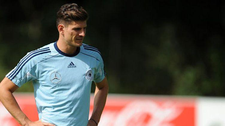 Le joueur allemand Mario Gomez
