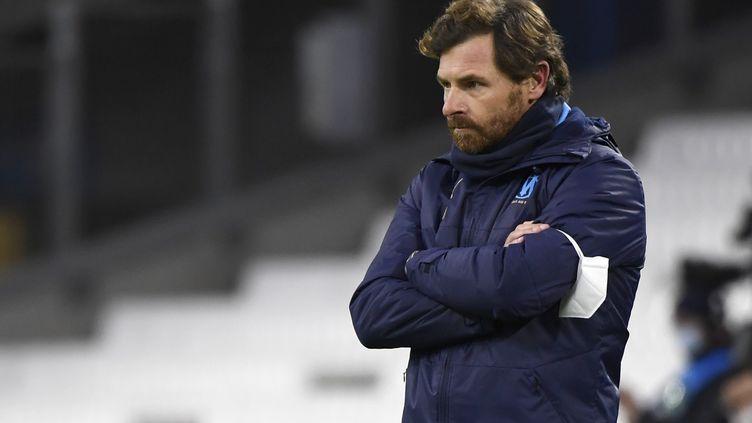 André Villas-Boas, l'entraîneur de l'Olympique de Marseille (NICOLAS TUCAT / AFP)