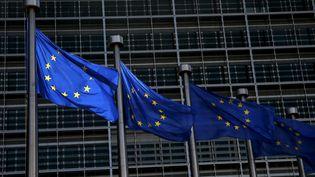 Au siège de la Commission européenne, à Bruxelles. (FRANCOIS LENOIR / REUTERS)