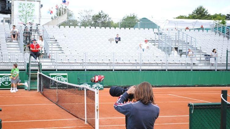 Les gradins de Roland-Garros sont encore loin d'être pleines