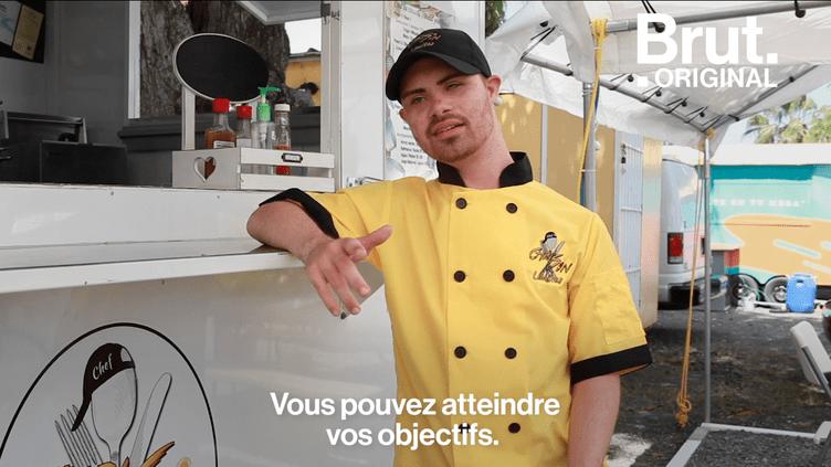 VIDEO. À Porto Rico, un food truck porteur d'espoir (BRUT)