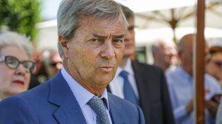 L'homme d'affaire Vincent Bolloré à Paris, le 26 juin 2017. (ZAKARIA ABDELKAFI / AFP)