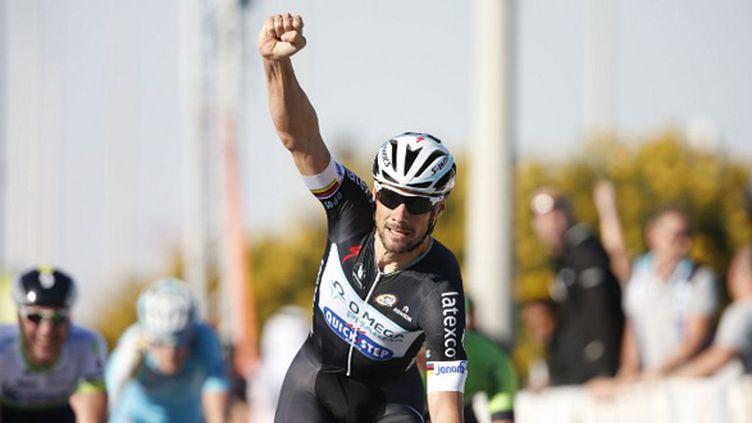 Tom Boonen s'impose au Qatar (YUZURU SUNADA / BELGA MAG)