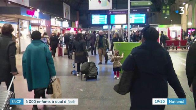 Grève à la SNCF : 6 000 enfants à quai