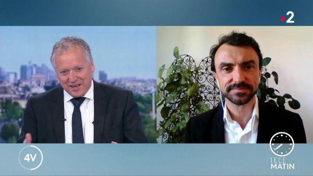 """""""La transition écologique est la meilleure alliée de l'économie"""" : Grégory Doucet était l'invité des 4 Vérités"""