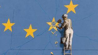 Banksy : frersque sur le Brexit à Douvres (mai 2017)  (CITIZENSIDE / Harry Steven Hadfiel / Citizenside)