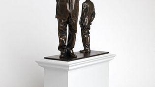 Antelope, sculpture de l'artiste Samson Kambalu qui sera exposée à Trafalgar Square, à Londres, à partir de 2022 (JAMES O JENKINS / BOLTON & QUINN)
