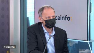 Jean Tirole, prix Nobel d'économie en 2014, était l'invité éco de franceinfo jeudi 24 juin. (FRANCEINFO / RADIOFRANCE)