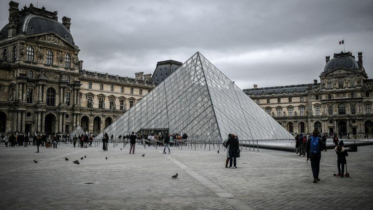 Le Louvre, le 28 février 2020. (STEPHANE DE SAKUTIN / AFP)