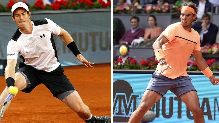 Andy Murray face à Rafael Nadal, un classique