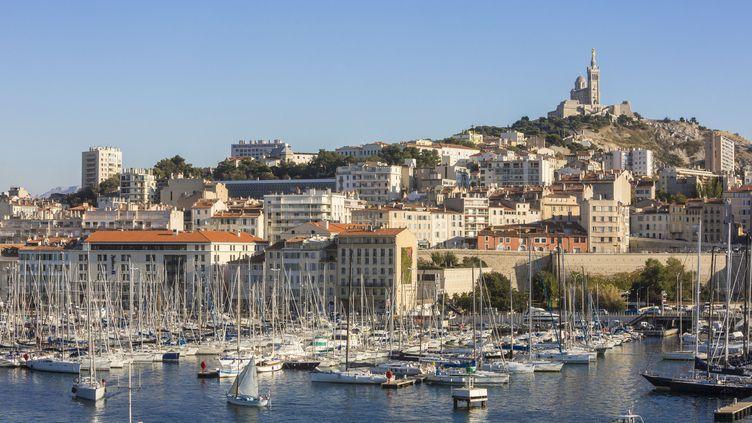 Le Vieux-Port de Marseille (Bouches-du-Rhône). (GARDEL BERTRAND / HEMIS / AFP)
