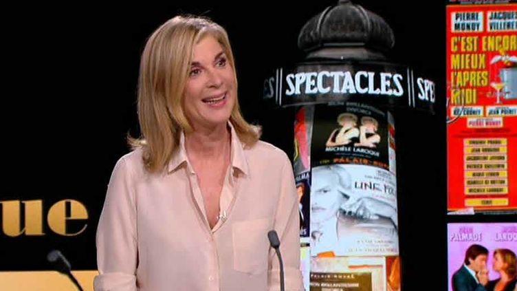 Michèle Laroque invitée de 20h30 le dimanche sur France2  (France 2 / culturebox)