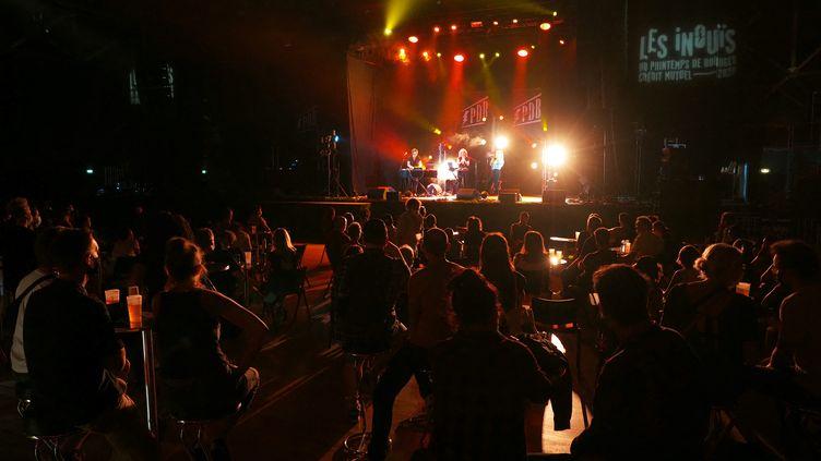 Ouverture du Printemps des Inouis, un festival de musique présentant de jeunes talents, au palais d'Auron à Bourges,le 16 septembre 2020. (GUILLAUME SOUVANT / AFP)