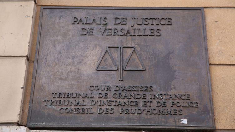 Le palais de justice de Versailles, le 05 février 2016. (OLIVIER BOITET / MAXPPP)