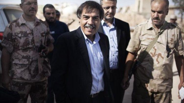 Ali Tarhouni en juillet 2011. (AFP PHOTO / MARCO LONGARI)