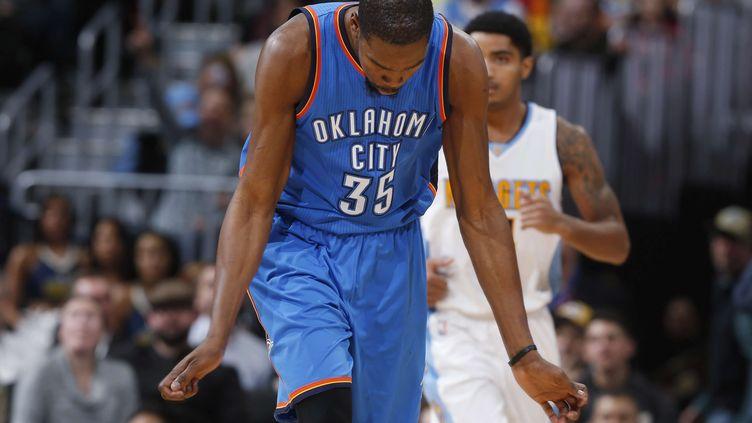 Kevin Durantva quitter son équipe d'Oklahoma (DAVID ZALUBOWSKI/AP/SIPA / AP)
