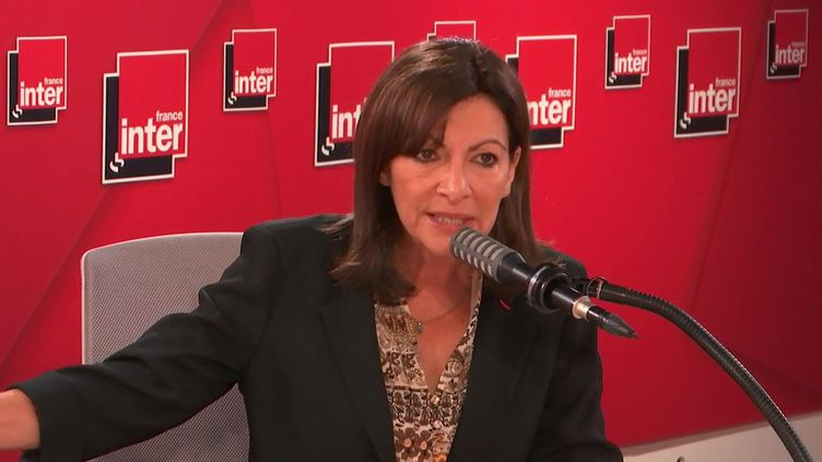 Anne Hidalgo, le 13 novembre 2021. (FRANCE INTER / RADIO FRANCE)