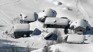 Hameau des neiges, en Savoie (FRANCE 3)