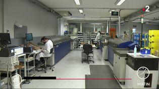 Les locaux de l'entrepriseGD France. (France 2)