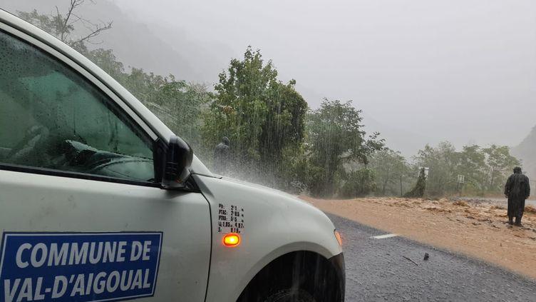 Àces fortes pluies s'ajoutent des coupures de courant et des difficultés pour communiquer. (avec l'aimable autorisation de Thomas Flavier)