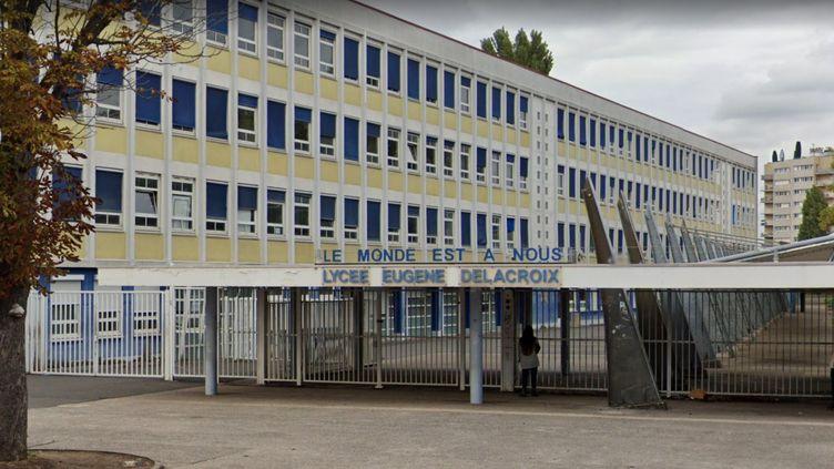Lycée Eugène Delacroix (Drancy). (CAPTURE D'ECRAN GOOGLE MAPS)