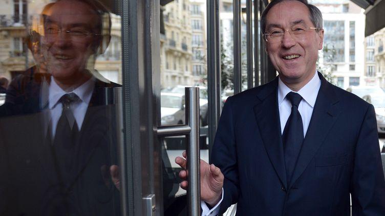 L'ancien ministre de l'Intérieur Claude Guéant à Paris, le 10 avril 2013. (MIGUEL MEDINA / AFP)