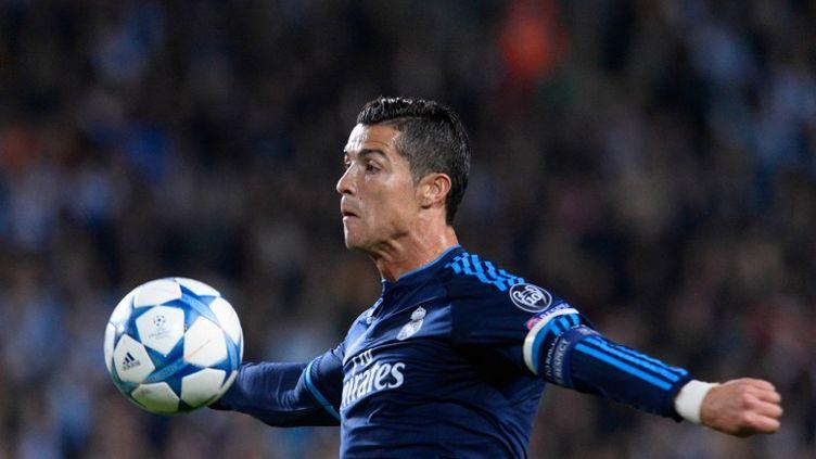 La star du Real Madrid, Cristiano Ronaldo (JONATHAN NACKSTRAND / AFP)