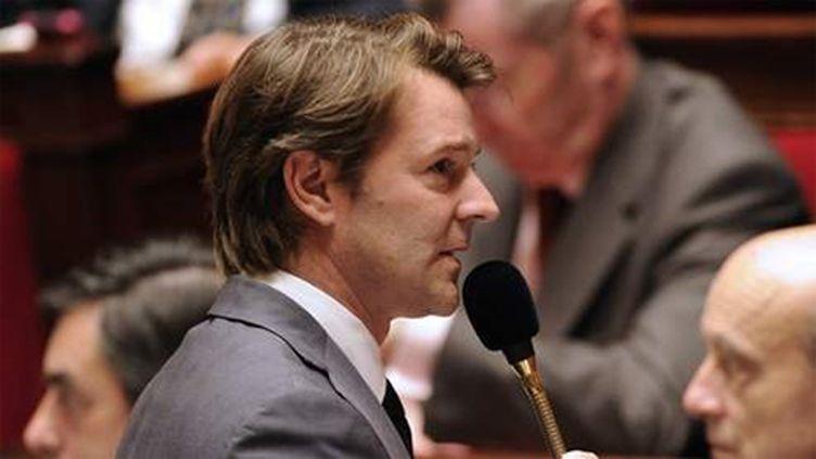 François Baroin devant l'Assemblée (AFP - BERTRAND GUAY)