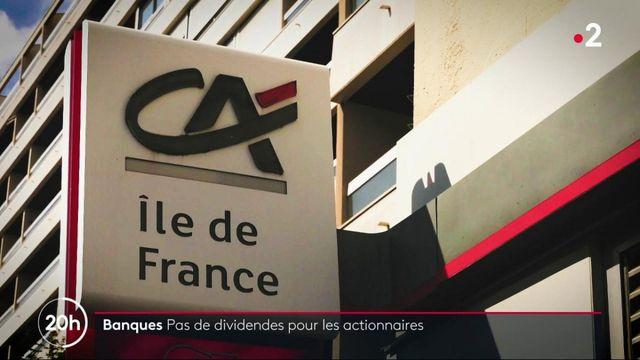 Banques : pas de dividendes pour les actionnaires