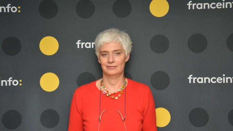 Frédérique Lantieri, chroniqueuse judiciaire sur France 5. (JEAN-CHRISTOPHE BOURDILLAT / RADIO FRANCE)
