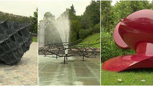 Place au Arts tout l'été au jardin public de Fougères en Ille-et-Vilaine (France 3 Grand Ouest)