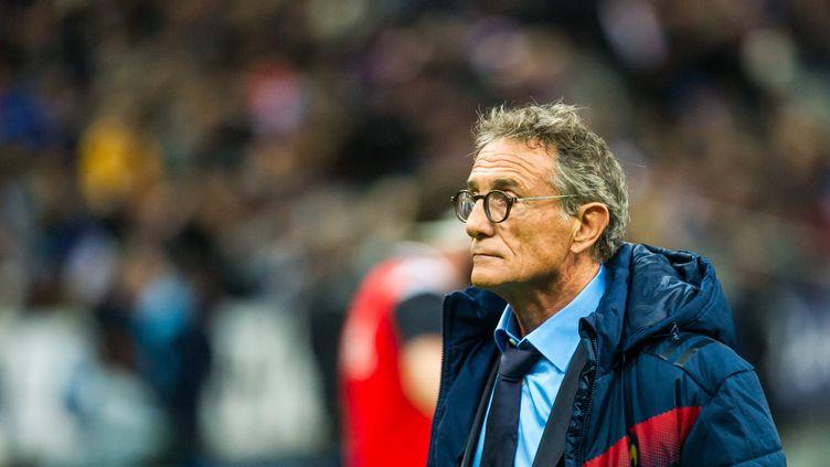 Le sélectionneur du XV de France, Guy Novès, en plein doute...