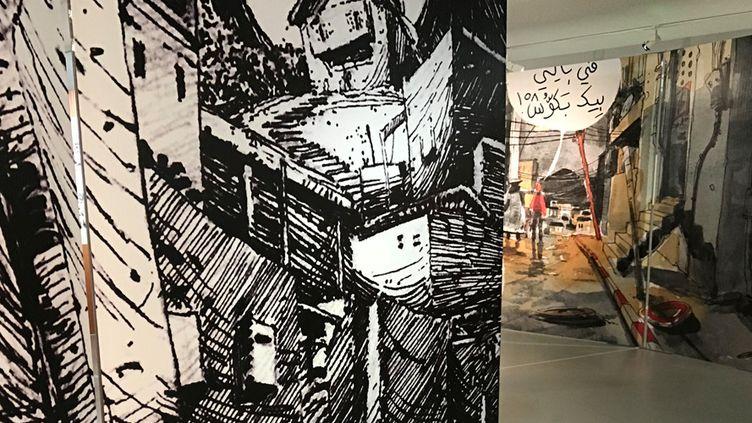 Exposition Nouvelle génération de la Bande dessinée arabe, Angoulême 2018  (laurence Houot / Culturebox)