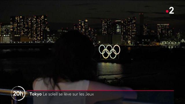 JO de Tokyo : les athlètes se préparent à la veille de la cérémonie d'ouverture