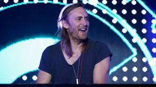 David Guetta à Las Vegas en mai 2015  (Isaac Brekken/AFP)