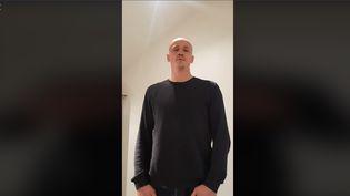 L'ancien boxeur Christophe Dettinger s'explique sur son geste contre des gendarmes mobiles, le 7 janvier 2019 sur Facebook. (FACEBOOK)